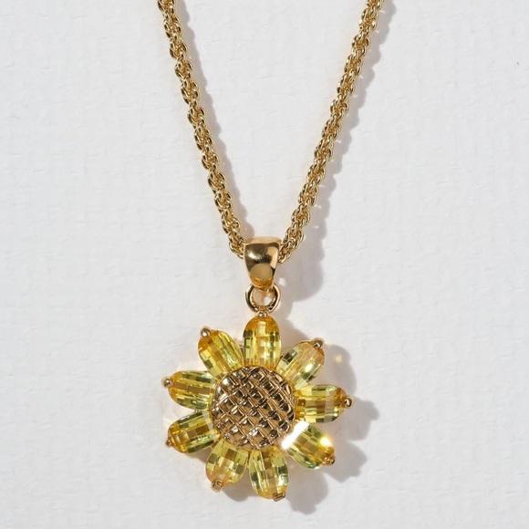 801450fe3537 Vanessa Mooney Jewelry | New The Sunflower Necklace | Poshmark